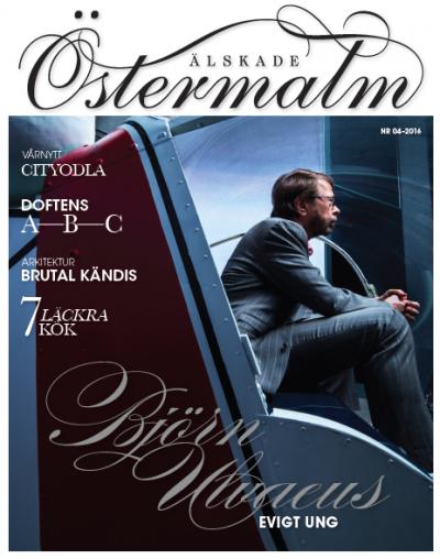Älskade Östermalms aprilnummer med Björn Ulvaeus