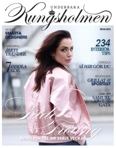 Underbara Kungsholmens aprilnummer med Tilde Fröling